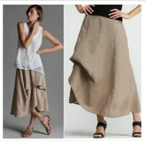 Eileen Fisher 100% Irish Linen Skirt